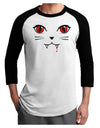 Vamp Kitty Adult Raglan Shirt