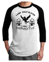 Cabin 9 Hephaestus Half Blood Adult Raglan Shirt