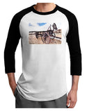 Antique Vehicle Adult Raglan Shirt