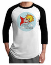 Pugs Are My Kinda Drugs Adult Raglan Shirt White Black 3XL Tooloud