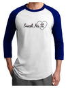 Sweet As Pi Adult Raglan Shirt