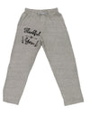Thankful for you Adult Loose Fit Lounge Pants Ash 2XL Tooloud