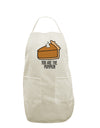 You are the PUMPKIN White Plus Size Apron Tooloud