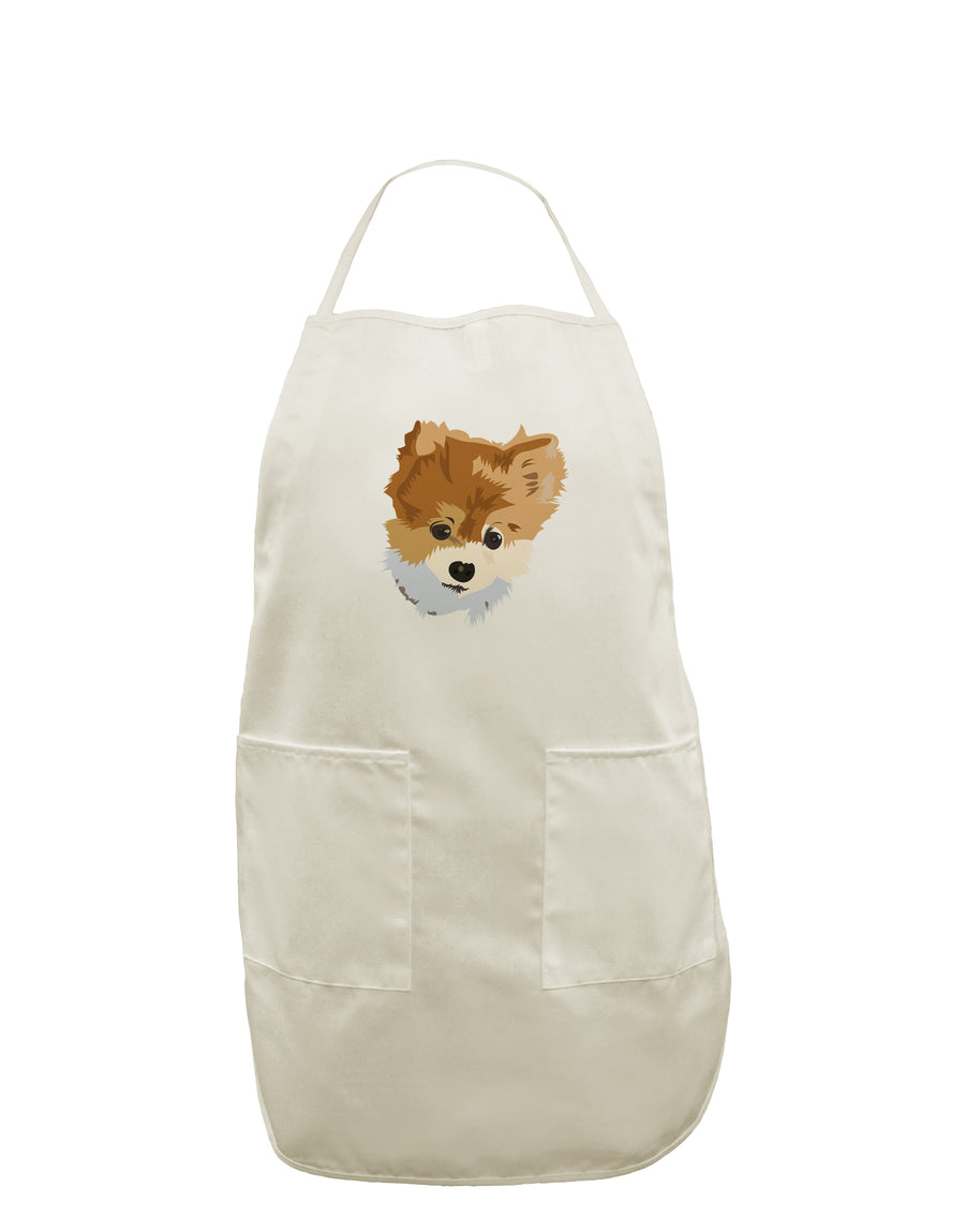 Custom Pet Art White Plus Size Apron by TooLoud
