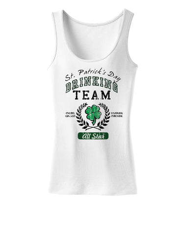 St Patricks Drinking Team Womens Tank Top