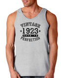 1923 - Vintage Birth Year Loose Tank Top Brand