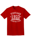 1923 - Vintage Birth Year Adult Dark T-Shirt