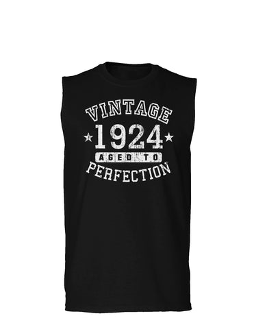 1924 - Vintage Birth Year Muscle Shirt Brand
