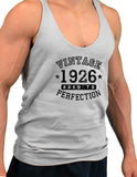 1926 - Vintage Birth Year Mens String Tank Top Brand