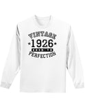 1926 - Vintage Birth Year Adult Long Sleeve Shirt Brand