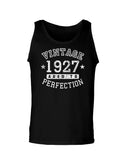 1927 - Vintage Birth Year Loose Tank Top Brand