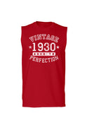 1930 - Vintage Birth Year Muscle Shirt Brand