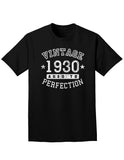 1930 - Vintage Birth Year Adult Dark T-Shirt