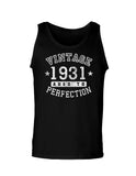 1931 - Vintage Birth Year Loose Tank Top Brand