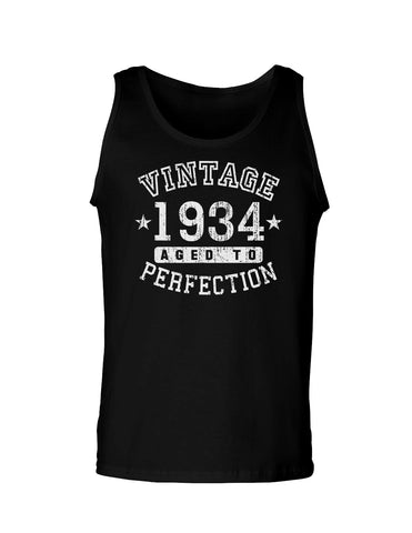 1934 - Vintage Birth Year Loose Tank Top Brand