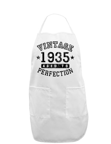 1935 - Vintage Birth Year Adult Apron Brand