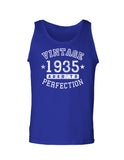 1935 - Vintage Birth Year Loose Tank Top Brand