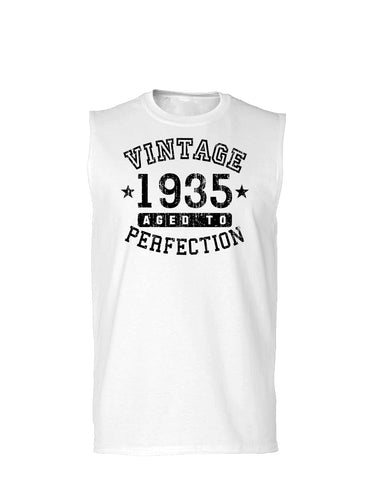 1935 - Vintage Birth Year Muscle Shirt Brand