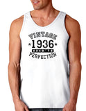 1936 - Vintage Birth Year Loose Tank Top Brand