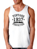 1937 - Vintage Birth Year Loose Tank Top Brand