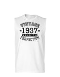 1937 - Vintage Birth Year Muscle Shirt Brand