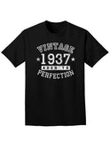 1937 - Vintage Birth Year Adult Dark T-Shirt