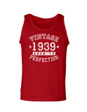 1939 - Vintage Birth Year Loose Tank Top Brand