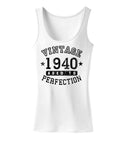 1940 - Vintage Birth Year Womens Tank Top Brand