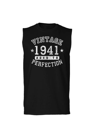 1941 - Vintage Birth Year Muscle Shirt Brand
