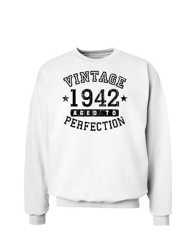 1942 - Vintage Birth Year Sweatshirt Brand