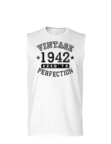 1942 - Vintage Birth Year Muscle Shirt Brand