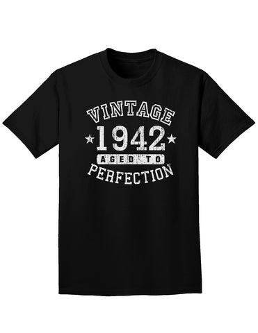 1942 - Vintage Birth Year Adult Dark T-Shirt