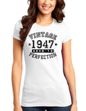 1947 - Vintage Birth Year Juniors T-Shirt