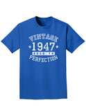 1947 - Vintage Birth Year Adult Dark T-Shirt