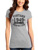 1949 - Vintage Birth Year Juniors T-Shirt