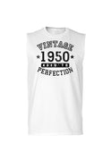 1950 - Vintage Birth Year Muscle Shirt Brand
