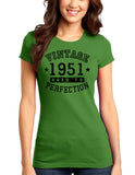 1951 - Vintage Birth Year Juniors T-Shirt