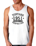 1951 - Vintage Birth Year Loose Tank Top Brand