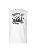 1951 - Vintage Birth Year Muscle Shirt Brand