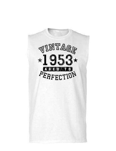 1953 - Vintage Birth Year Muscle Shirt Brand