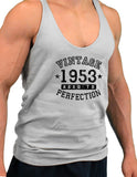 1953 - Vintage Birth Year Mens String Tank Top Brand