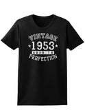 1953 - Vintage Birth Year Womens Dark T-Shirt