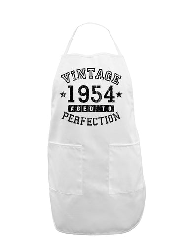 1954 - Vintage Birth Year Adult Apron Brand