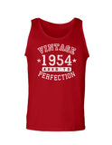 1954 - Vintage Birth Year Loose Tank Top Brand