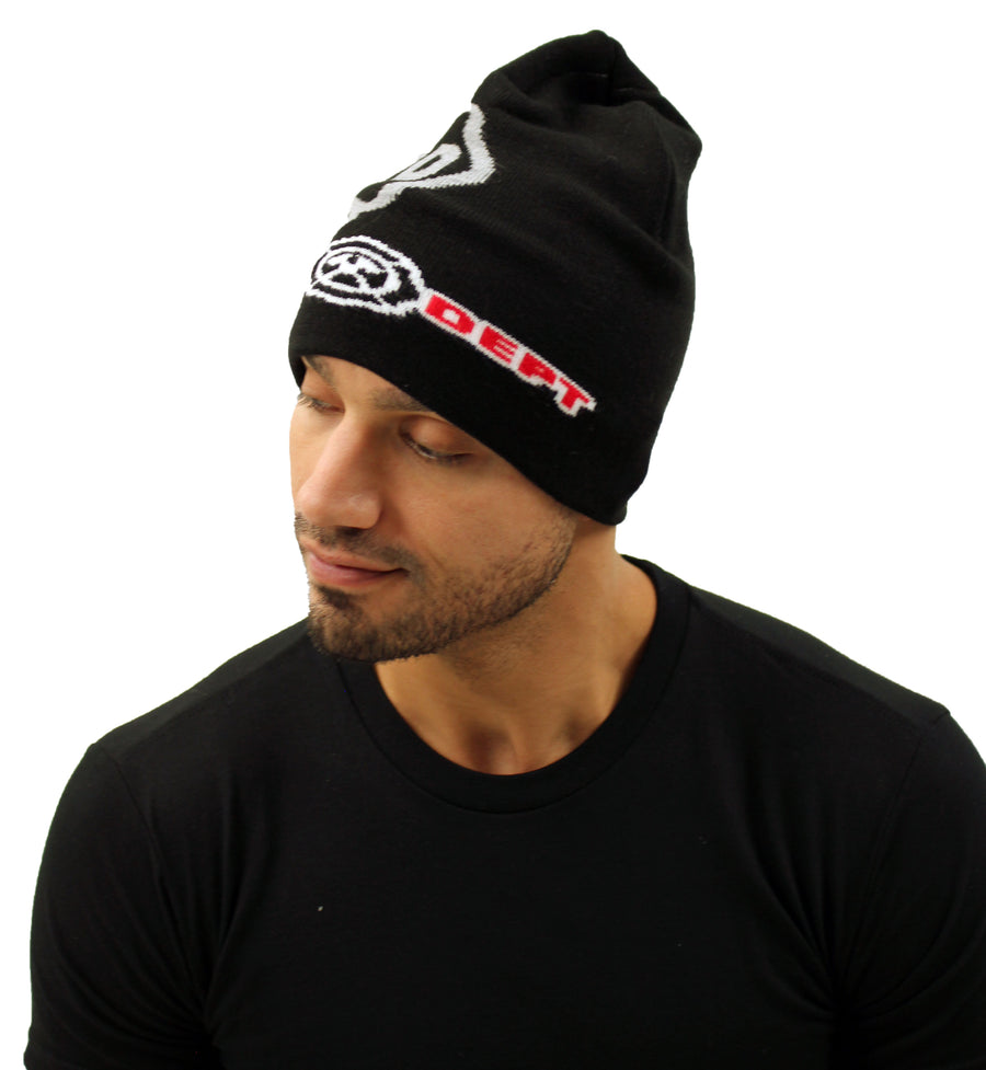 Firefighter Badge Premium Knit Beanie