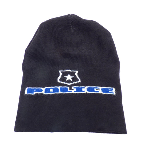 Police with Badge Premium Knit Beanie