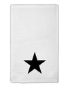 "Black Star 11""x18"" Dish Fingertip Towel"