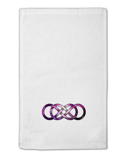 "Double Ininifty Galaxy 11""x18"" Dish Fingertip Towel"