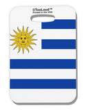 Uruguay Flag AOP Luggage Tag Single Side All Over Print Tooloud