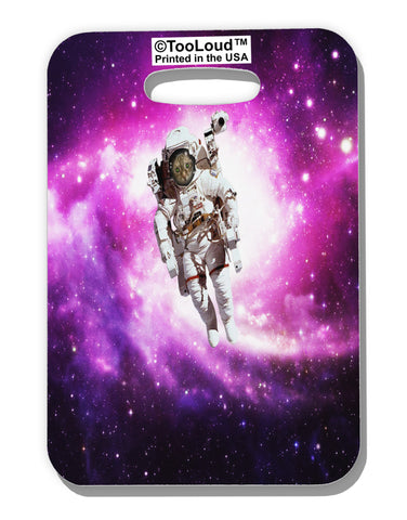 Astronaut Cat AOP Luggage Tag Single Side All Over Print